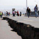 Nachbeben halten Chilenen weiter in Atem