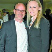 Peter Farbowski (Mini Austria) und Robin Pfeifer (BMW).