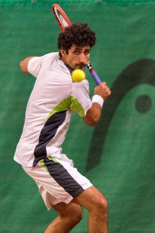 Lokalmatador Philipp Oswald konnte sich beim Karl-Graf-Turnier 2007, 2008, 2013 und 2014 in die Siegerliste eintragen.
