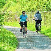 Augenmerk auf Radfahrer