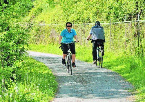 Radweg entlang der Ill wird auf einer Länge von rund 300 Metern erneuert.  Foto: STB