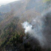 Zeit der brandgefährlichen Wälder