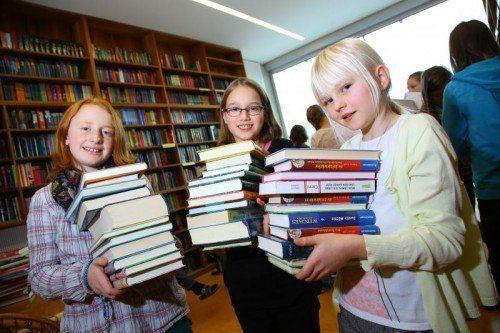 Vorarlbergs Schüler haben wieder allen Grund zu lesen: Sie küren den Sieger der Selektissima.  Foto: VN/Hofmeister