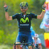 Valverde beim Flèche Wallonne wieder Sieger