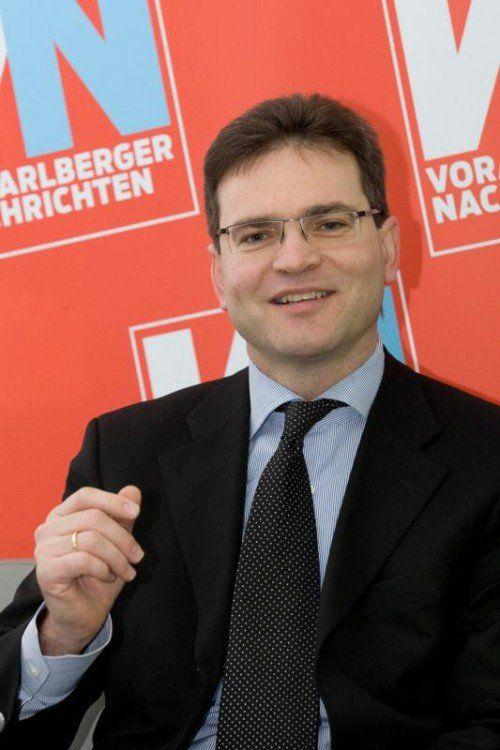 """Richard Forster: """"Immer auf dem Laufenden beim EU-Recht.""""  VN/RP"""