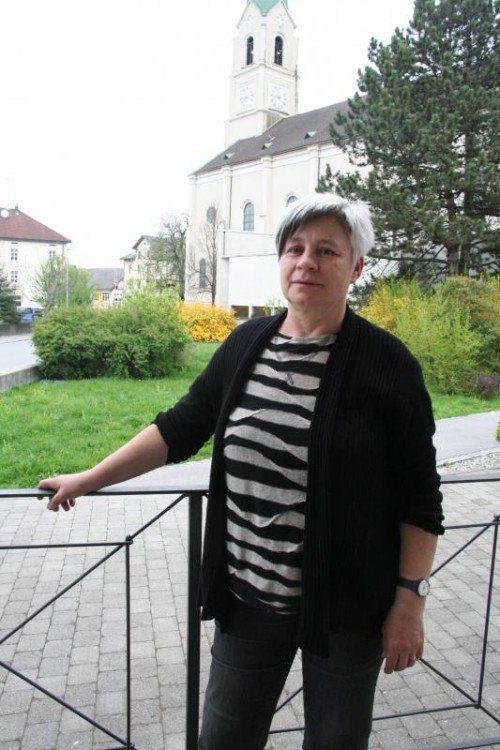 Rita Wohlgenannt organisiert auch den Vierbeiner.