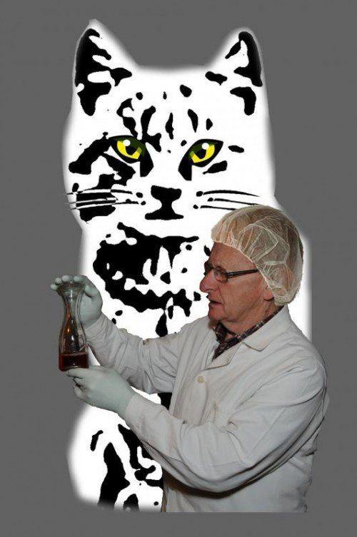 Robert Domig wird in Christian Mährs Kriminalgroteske als Chemiker zu sehen sein.  Foto: Domig