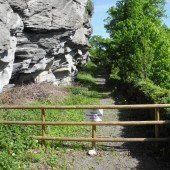 Feldkirch: Weg über Kapf bleibt noch gesperrt