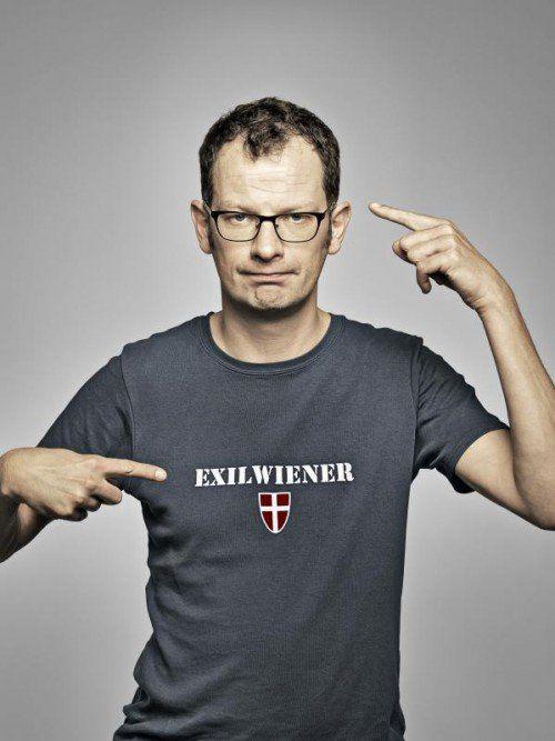Severin Groebner wurde 2013 mit dem Österreichischen Kabarettpreis ausgezeichnet. FOTO: veranstalter