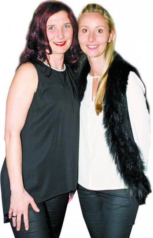 Simone Kraxner (l.) und Sarah Herrmann. Fotos: Franc