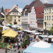 Frühjahrsmarkt in Bludenz
