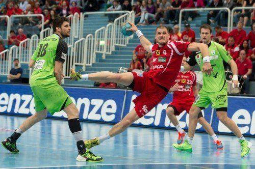 Sport Handball, Handball-Liga Austria: Alpla HC Hard - SG HB West Wien