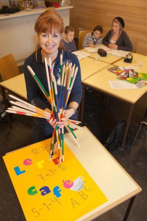 Susanne Hagen liebte ihren Job im Caritas-Lerncafé. Aber jetzt nahm sie den Hut.  Foto: VN/Hartinger