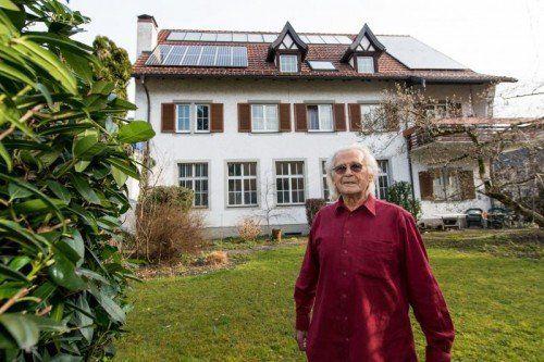 Tibor Naphegyi: das ehemalige Fabriksgebäude bekam eine neue, umweltschonende Heizungsanlage.