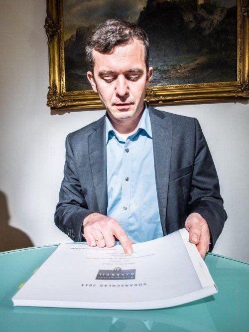 """""""Transferzahlungen ans Land werden zu einem großen Problem"""": Bürgermeister Martin Summer. Fotos: mk"""