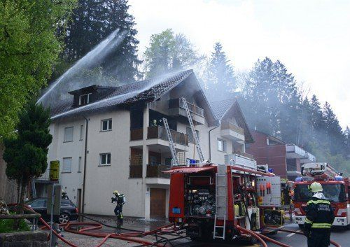 Ursache des vorerst rätselhaften Brandes in Liechtenstein konnte nun geklärt werden. Foto: Polizei