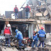 Fünf Tote bei Gasexplosion