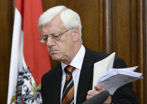 VfGH-Chef Holzinger drückt bei der Reform der Untersuchungsausschüsse aufs Tempo. Foto: apa