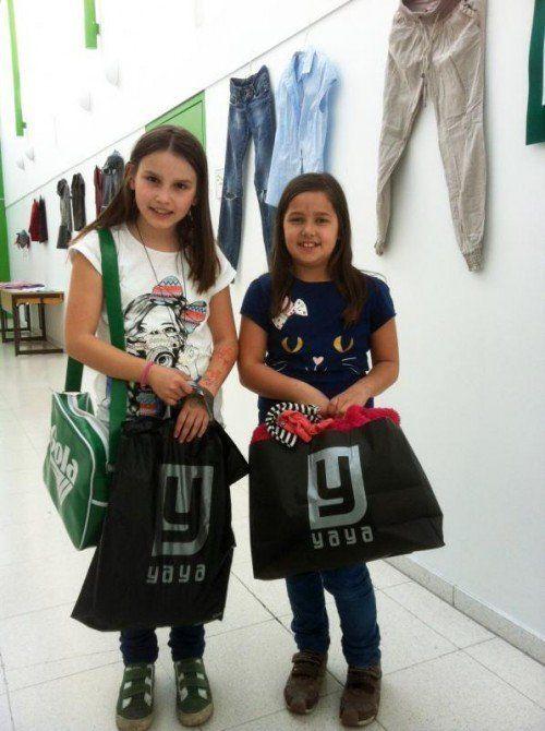 Viele Schülerinnen fanden tolle neue Outfits.  Foto: lcf