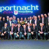 Meusburger, Schairer und die Harder Handballer waren 2013 die Besten