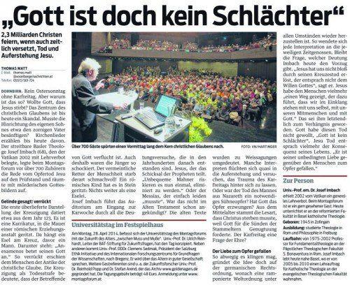 VN-Bericht vom 15. April 2014