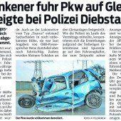 Auf Gleis geparkt: Alko-Lenker freigesprochen