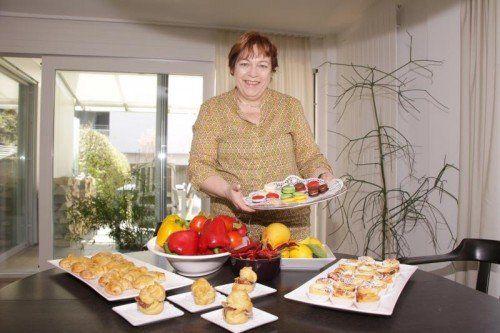 """Wer seine Gäste mit ein paar billigen Wurstbrötchen """"abspeisen"""" will, ist bei """"Petit-Barbara"""" an der falschen Adresse.  Foto: TMH"""