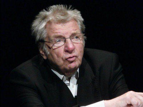 """Werner Schneyder präsentierte """"Das ultimative Solo""""."""