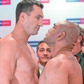 Klitschko steigt gegen Leapai in den Ring