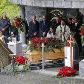 Mordopfer in Balzers beerdigt