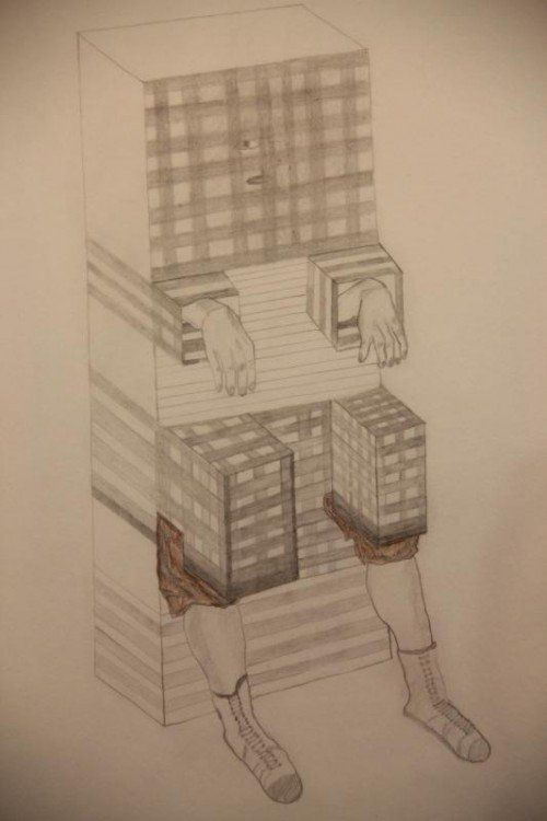 Zeichnung von Viktoria Tremmel. Fotos: A. grabher