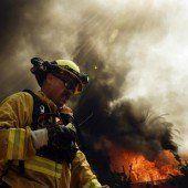 Feuer wütet in Kalifornien