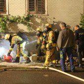 Feueralarm in Dornbirn
