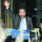 Griechen wählen links