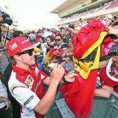 Ferrari hofft in Barcelona auf einen starken Alonso
