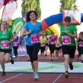 Mit den Töchtern zum Frauenlauf