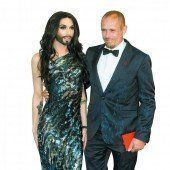 Conchita Wurst bei Aids-Gala in Cannes