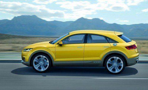 Audi TT Offroad-Concept: Die Ingolstädter wollen in weiteren Nischen punkten. Foto: werk