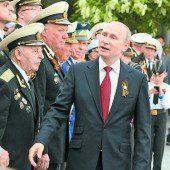 Putin besucht die Krim
