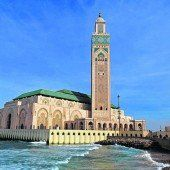 Die Moschee Hassan II