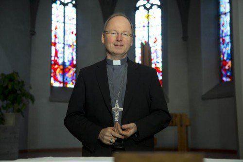 Bischof Benno will mit Gebeten Brücken bauen.