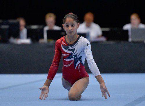 Lokalmatadorin Ceyda Giorgiana Sirbu, EM- und YOG-Teilnehmerin 2014, fehlt verletzungsbedingt.