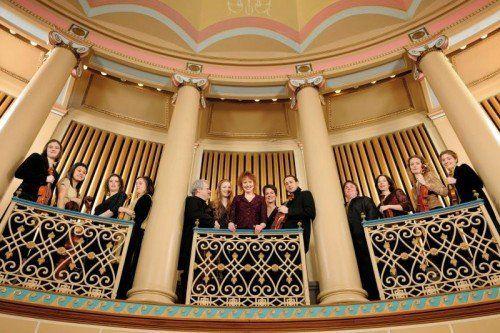 Das amerikanische Ensemble Apollo's Fire wird zum Abschluss der Meisterkonzerte-Saison in Bregenz das Publikum begeistern. foto: mastroianni