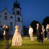 Wallfahrtskirche Bildstein wird Bühne für das Große Welttheater
