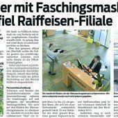 Nach Bankraub in Altenstadt: Tatverdächtiger sitzt in U-Haft