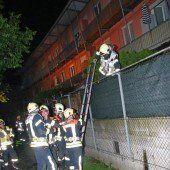 Acht Verletzte bei Kellerbrand