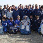 ISS-Raumfahrer wieder wohlbehalten zurück