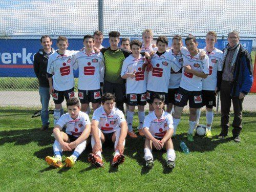Die Siegermannschaft der PTS Feldkirch. Foto: moosbrugger