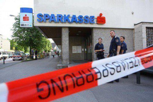 Die Sparkasse Hatlerdorf wurde heuer zum vierten Tatort eines Banküberfalls.  Foto: VN/Bernd Hofmeister