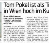 Wien macht Vertrag mit Pokel perfekt
